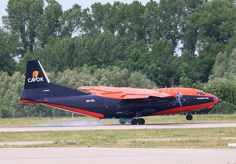 """AN 12BK  """" UR-CKL """" Cavok Air -3"""