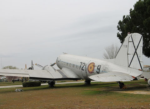 "DC 3  "" 721 9 ""  Spainish Air Force -4"