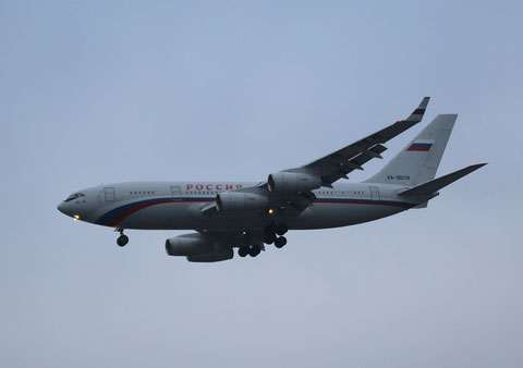 """Il-96 300 """" RA-96014 """" Rossiya -3"""