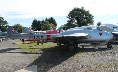 """De Havilland Vampire DH.100 Mk 6  """" J-1008 """" SwAF -1"""