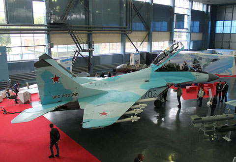 "MiG 35  "" 702 ""  Russian Air Force -2"