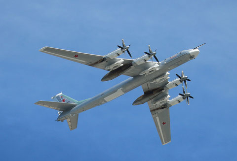 "TU 95MSM "" 15 ""  RF-94125  - Kaluga- Russian Air Force -1"