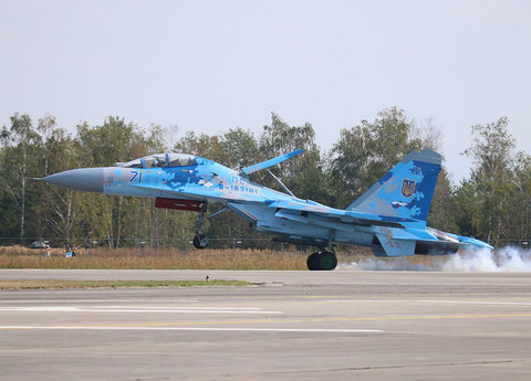 "SU 27UB "" 71 "" Ukrainian Air Force -3"