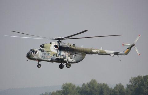 """Mi 171 """" 9873 """" Czech Air Force -1"""