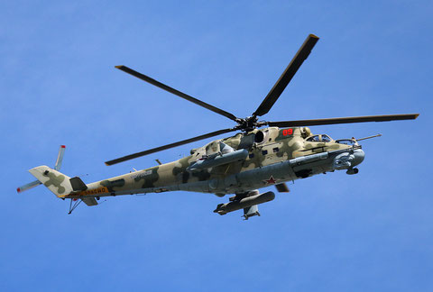 "MI 24P "" 09 ""   RF-93545  Russian Air Force -1"
