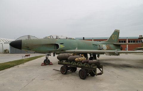 """Saab J32E Lansen """" 07 """"  Swedish Air Force -1"""