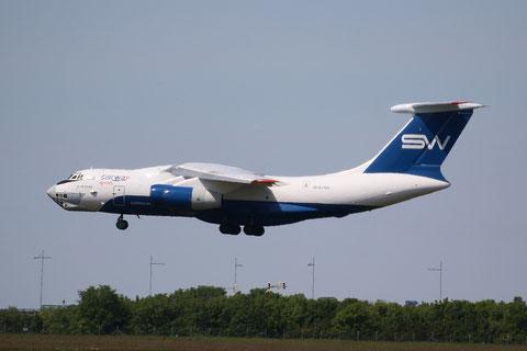 "IL 76TD-90SW "" 4K-AZ100"" Silk Way Airlines -8"