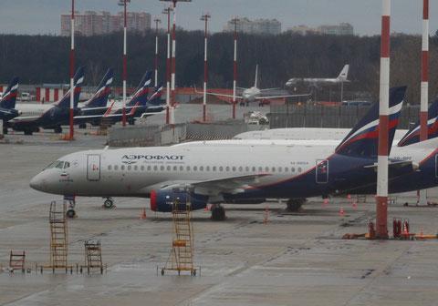 """Superjet 100-95B """" RA-89024 """" Aeroflot -1"""