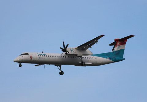 """Dash 8-402Q  """" LX-LOB """"  Luxair -1"""