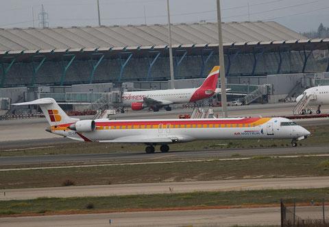 """CRJ-1000 """" EC-LKF """"  Air Nostrum -1"""