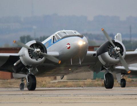 Beech18 EC-ASJ-2