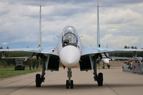 "SU 30SM "" 08 ""  RF-95823 Russian Air Force -1"