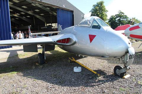 """De Havilland Vampire DH.100 Mk 6  """" J-1008 """" SwAF -2"""