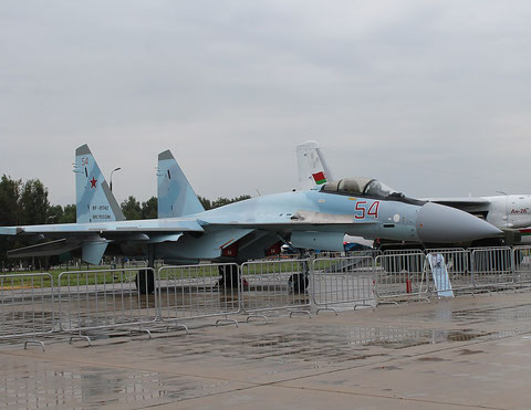 "SU 35S "" 54 ""  RF-81742  Russian Air Force -1"