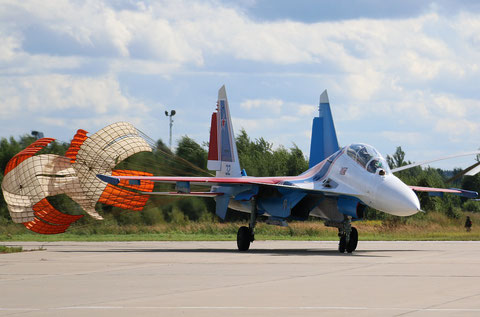 "SU 30SM "" 32 ""  RF-81703 Russian Air Force / Russian Knights -3"