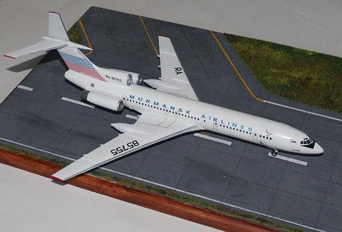 "TU 154M "" RA-85755 ""  Murmansk Airlines -1"