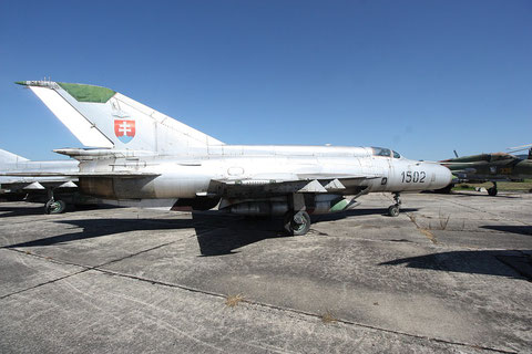 """MiG 21R """" 1502 """" Slovak Air Force -3"""