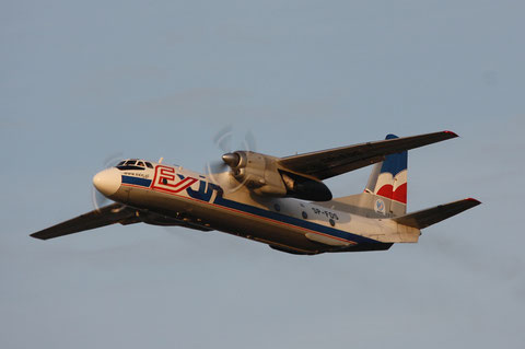 "AN-26B "" SP-FDS "" Exin -1"
