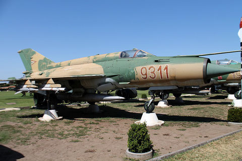 "MiG 21MF  "" 9311 ""  Hungarian Air Force -1"