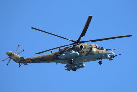 """MI 35 """" 83 """"   RF-13383  Russian Air Force -2"""