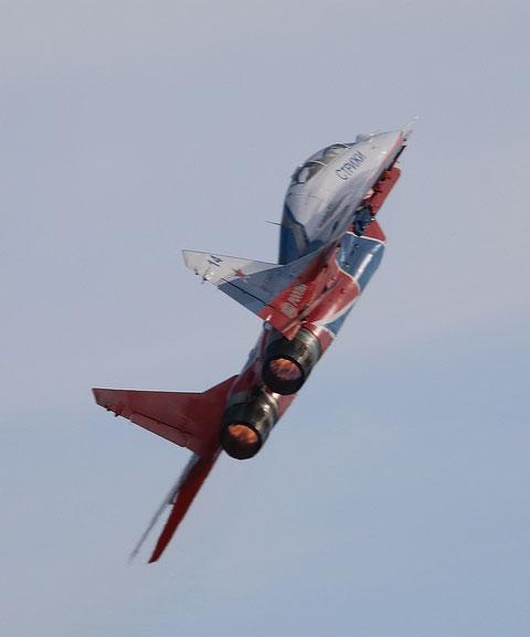 """MiG 29UB """" 14 """"  RF-92804  Воздушно-космические силы ( ВКС ) Россия -4"""