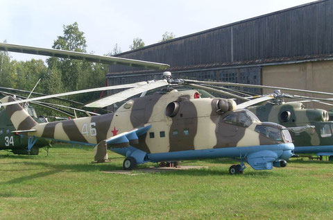 "Mi 24D  "" 46 ""  Russian Air Force -2"