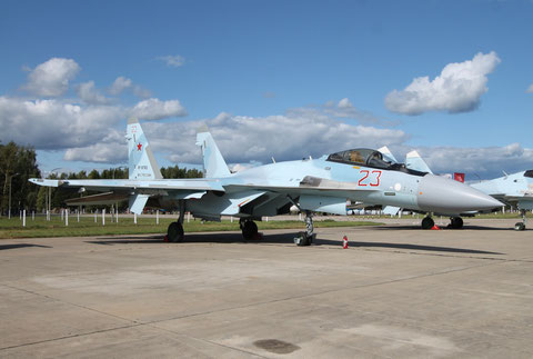 "SU 35S "" 23 ""  RF-81763  Russian Air Force -1"