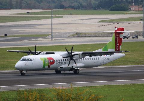 "ATR 72-212A (600) "" CS-DJC ""  TAP Express -2"