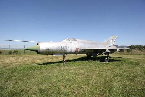 """MiG 21R  """" 1924 """"  Slovak Air Force -1"""