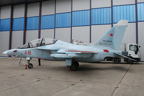 "JAK 130 "" 48 "" RF-44445  Russian Air Force -1"