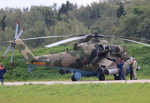 """MI 35 """" 55 """"   RF-13374  Воздушно-космические силы       ( ВКС ) Россия -5"""