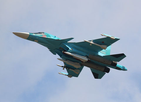 "SU 34 "" 38 ""  Russian Air Force -1"