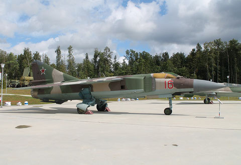"MiG 23MLD "" 16 ""  Russian Air Force -2"