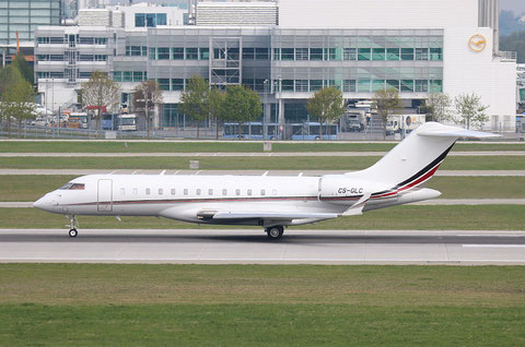 "Bombardier BD-700-1A10 Global 6000 "" CS-GLC ""  NetJets Europe -1"