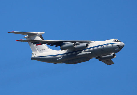 "IL 76MD "" RA-76762 "" Russian Air Force -1"