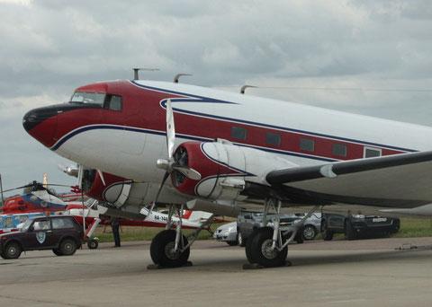 "DC 3 "" RA-2059G ""   Barsov Aviation Museum -1"