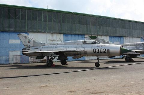"""MiG 21PF """" 0302 """"  Czech Air Force -1"""