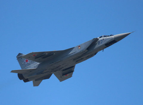 "MiG 31BM "" 82 "" Russian Air Force -1"