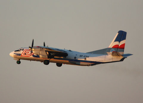 "AN-26B "" SP-FDS "" Exin -2"