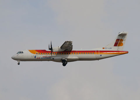 "ATR 72-600 "" EC-LQV ""  Air Nostrum -4"