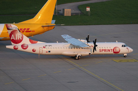 "ATR 72-202/F  "" SP-SPC ""  Sprint Air -1"