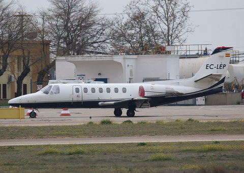 "Cessna 560 Citation 5  "" EC-LEP ""  Airlink Soultuons -1"