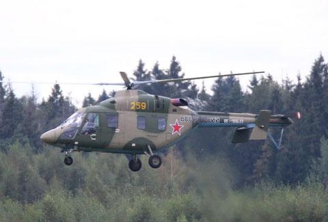 """ANSAT U """" 259 """"    RF-90633  Воздушно-космические силы ( ВКС ) Россия -2"""