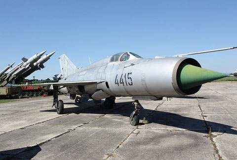 "MiG 21PFM  "" 4415 ""  Slovak Air Force -1"