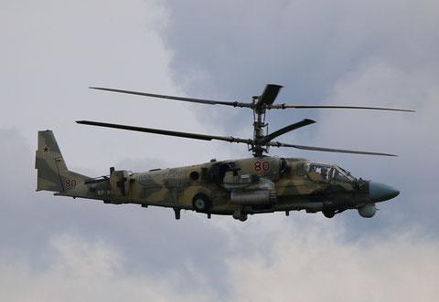 "Ka 52 "" 80 ""  RF-90392  Russian Air Force -1"