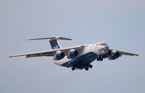 "IL 76TD-90SW "" 4K-AZ100"" Silk Way Airlines -2"