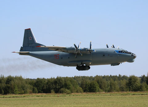 "AN 12BK "" 16 ""  RF-12561 Russian Air Force -4"