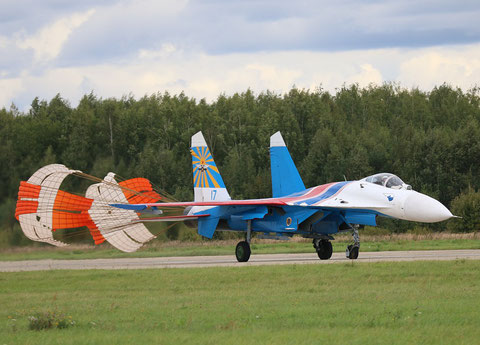 "SU 27P  "" 17 ""  Russian Knights / Russian Air Force -2"