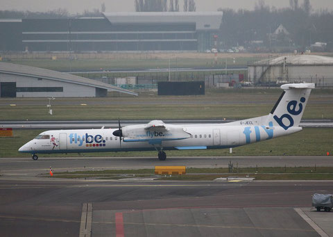 "DHC-8-402 Dash 8 "" G-JECL "" Flybe -1"