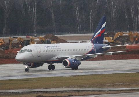 """Superjet 100-95B """" RA-89104 """" Aeroflot -1"""